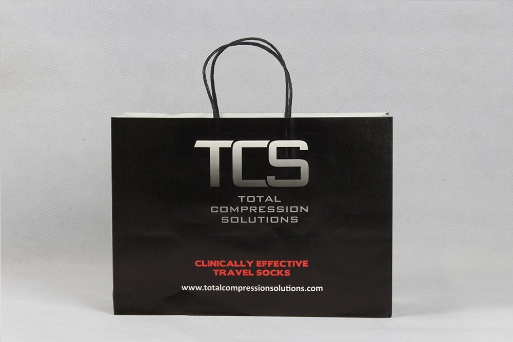 TCS商务型服装牛皮纸袋定制