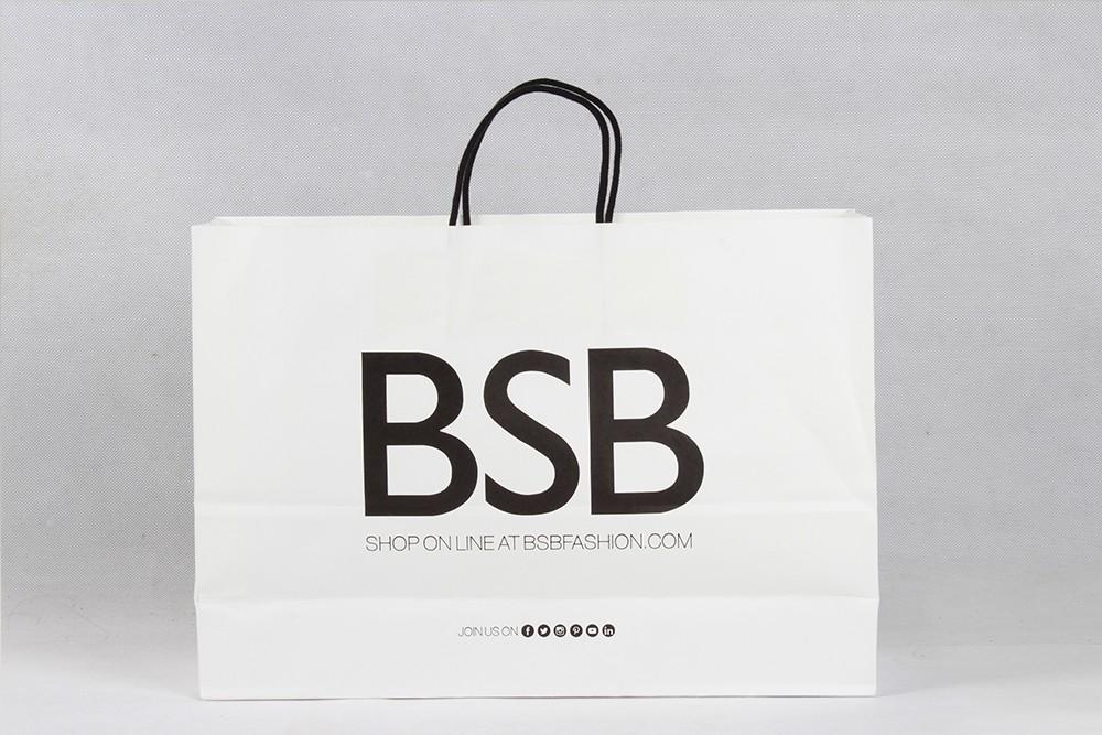 BSB时尚服装牛皮纸袋定制