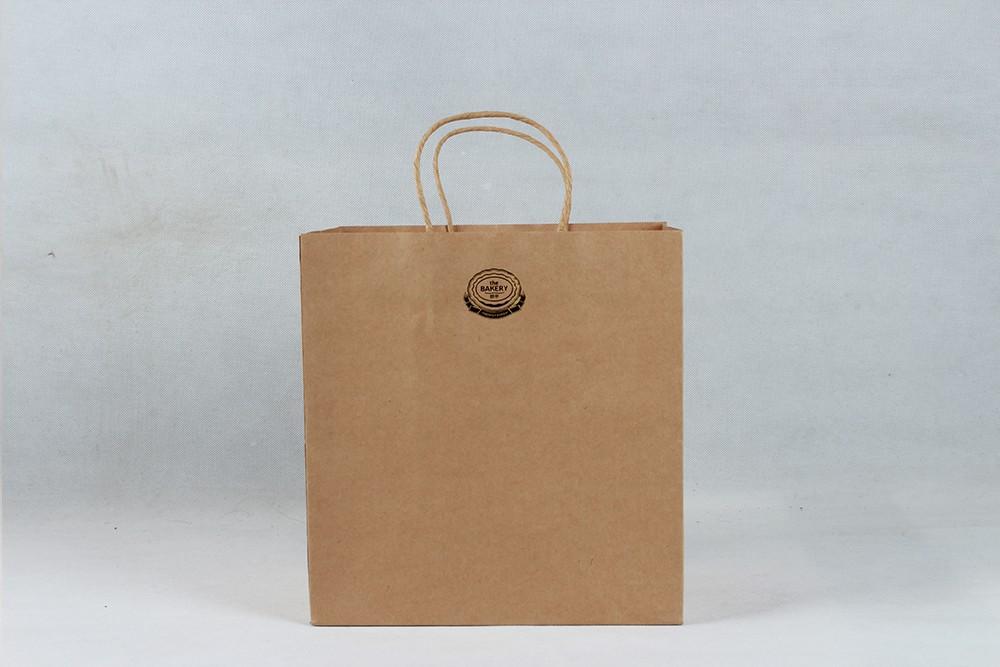 时尚简约型牛皮纸袋  BAKERY