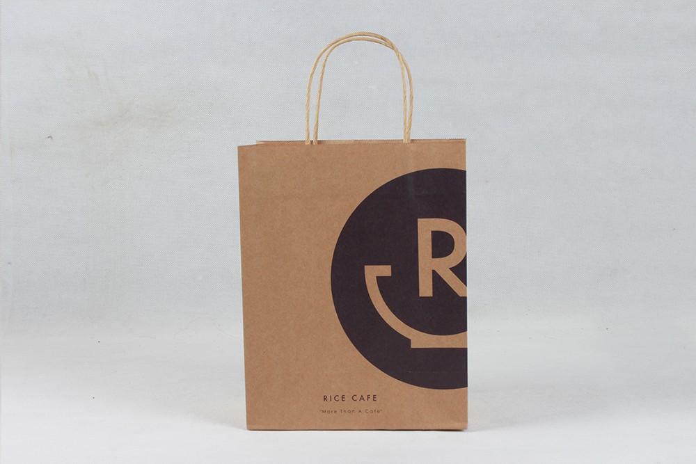 简约型牛皮纸袋  RICE CAFE