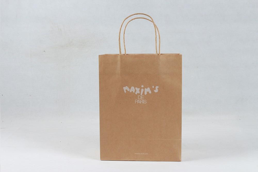 简约型牛皮纸袋  MAXIM`S