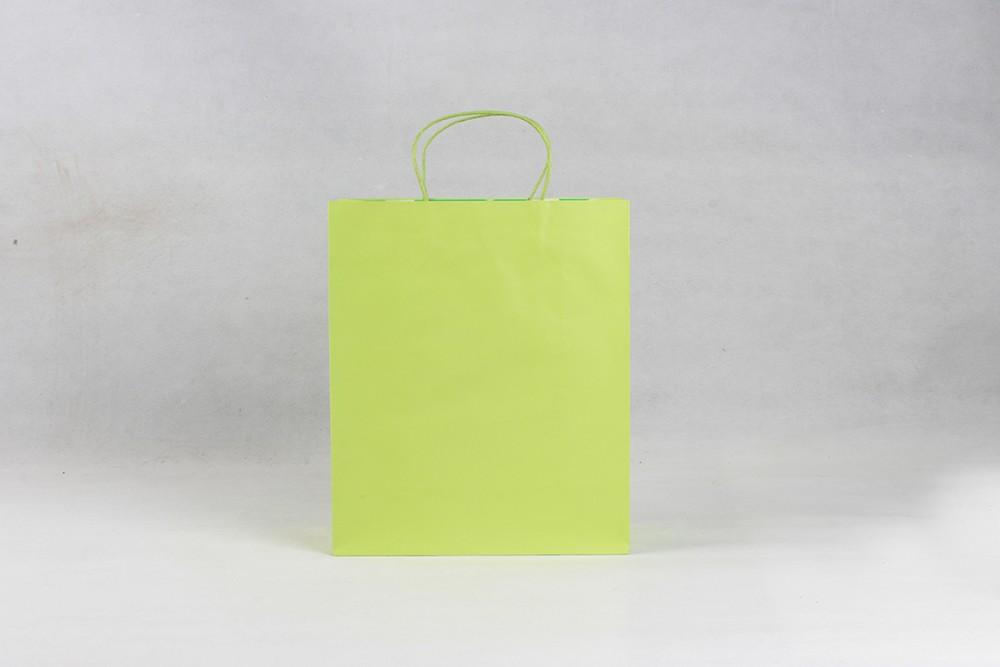 简约时尚型铜版纸袋