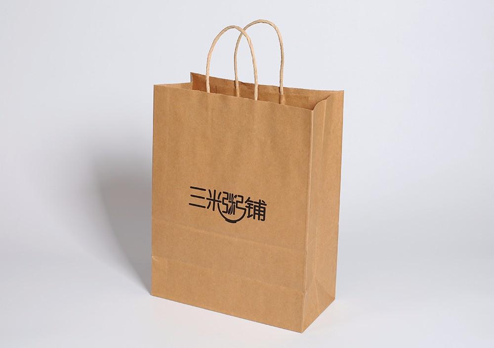 餐饮打包袋定做样例-三米粥铺
