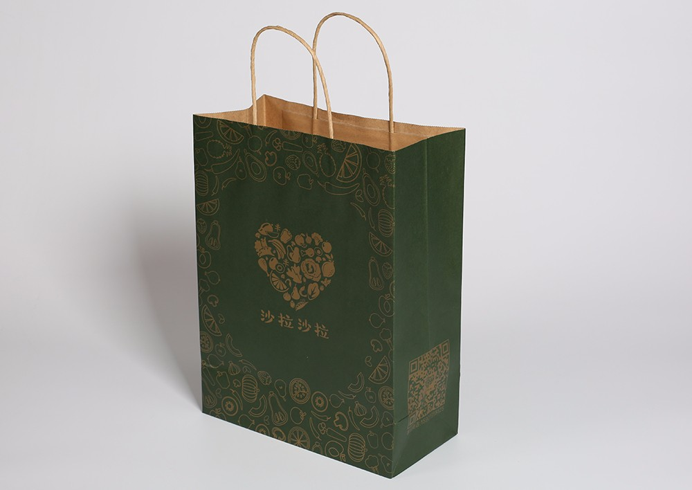 外卖打包袋定制样例-沙拉沙拉