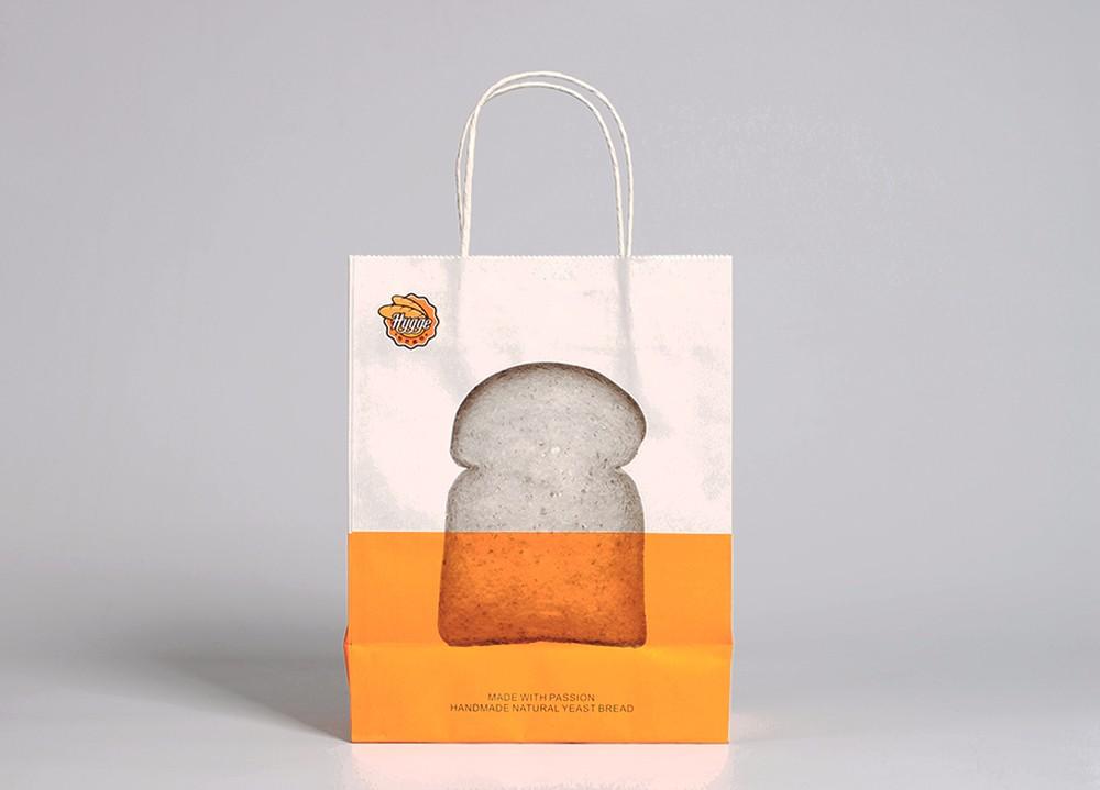 打包袋定做样例-怡然面包