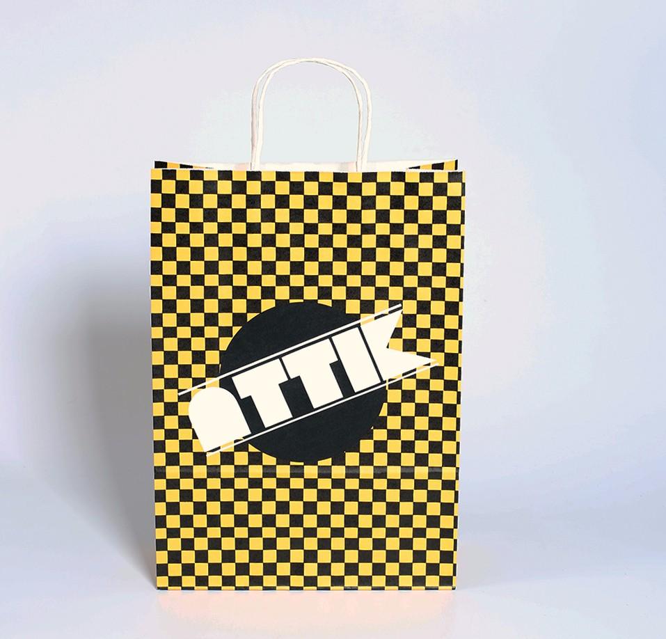 白牛皮服装纸袋-ATTK