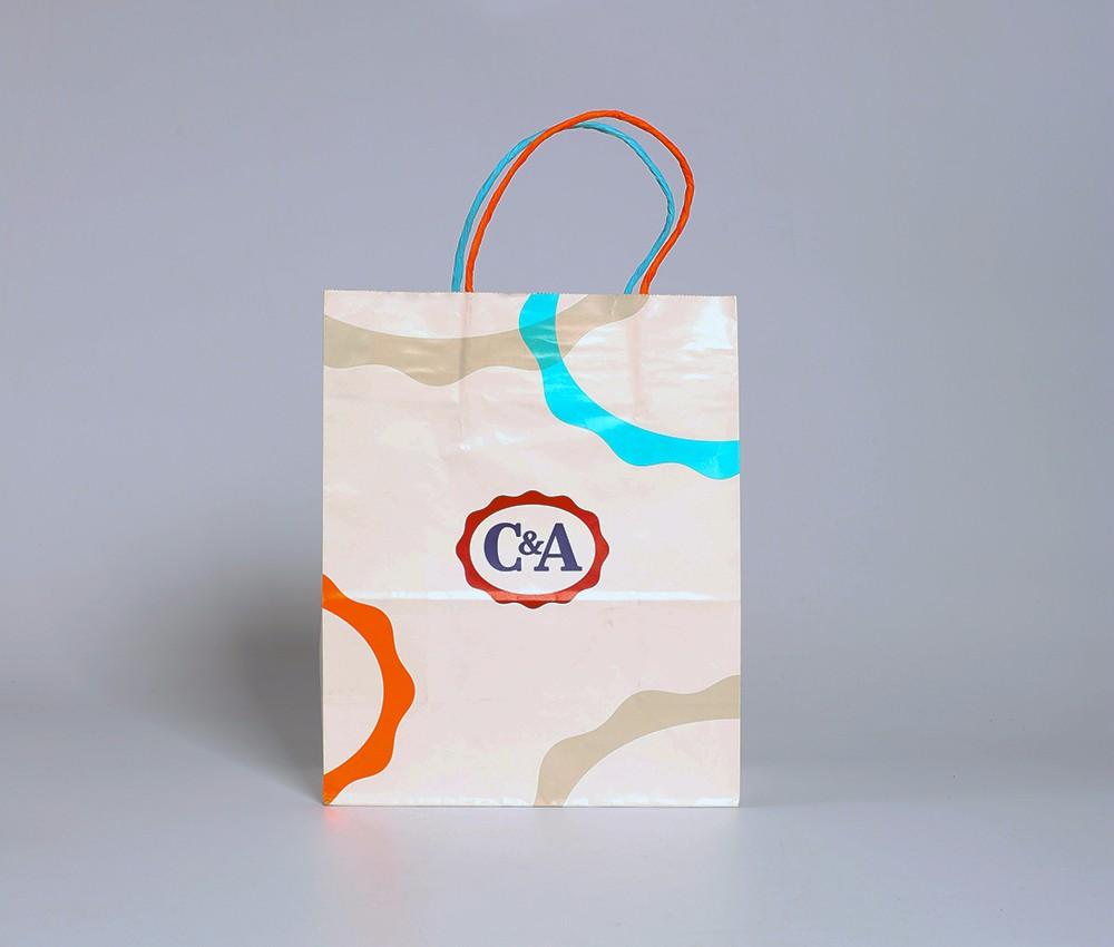 服装纸袋定做样例-C&A